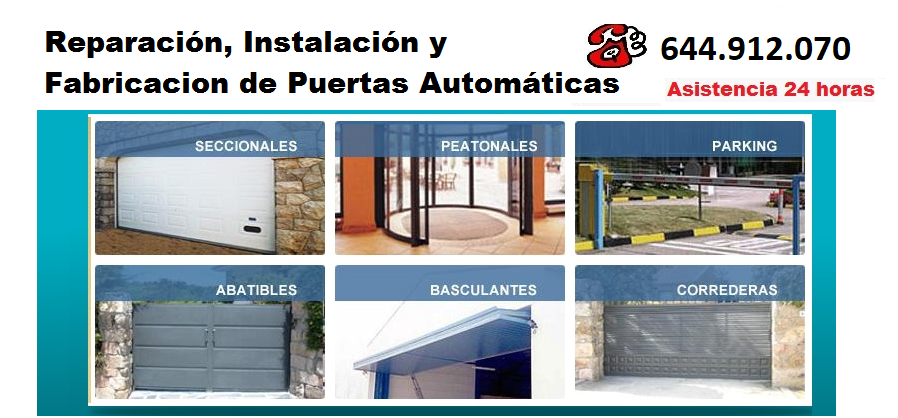 Reparacion de puertas automaticas valencia - Puertas automaticas en murcia ...